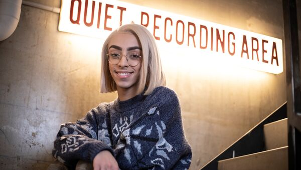 French singer Bilal Hassani poses in Paris on January 28, 2019. Bilal Hassani, 19, will represent France at the 2019 Eurovision Song Contest in May. Thomas SAMSON / AFP - Sputnik International