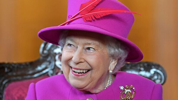 Britain's Queen Elizabeth visits The Honourable Society of Lincoln's Inn to open the new Ashworth Centre, and re-open the recently renovated Great Hall, in London, Britain, December 13, 2018 - Sputnik International