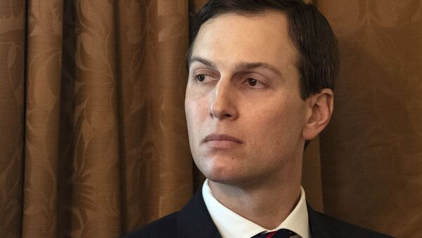 Senior White House adviser, and son-in-law of US President Donald Trump, Jared Kushner attends a Cabinet meeting at the White House in Washington, DC, on 2 January, 2019 - Sputnik International