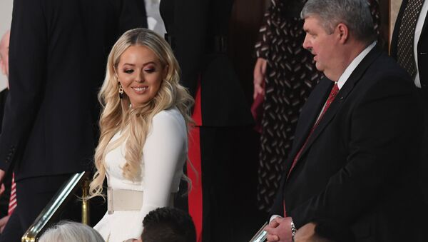 Tiffany Trump arrives to attend the State of the Union address at the US Capitol in Washington, DC, on February 5, 2019. - Sputnik International