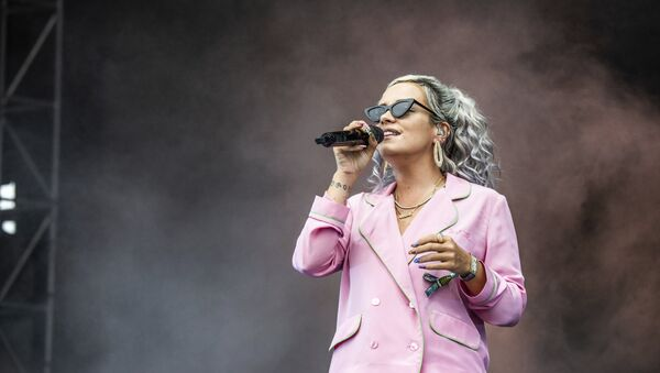 Lily Allen performs on day one of the Austin City Limits Music Festival's second weekend on Friday, Oct. 12, 2018, in Austin, Texas.  - Sputnik International