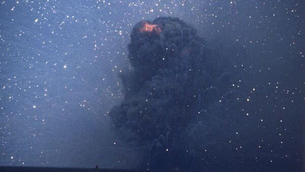 The RSD-10 rocket destroyed at the Kapustin Yar test site - Sputnik International