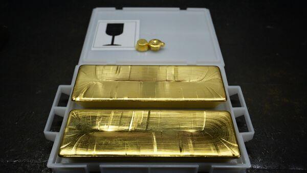 Golden bars - Sputnik International