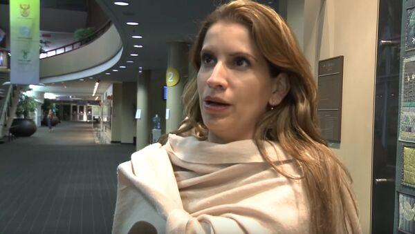 Venezuelan Ambassador to the EU Claudia Salerno Caldera - Sputnik International