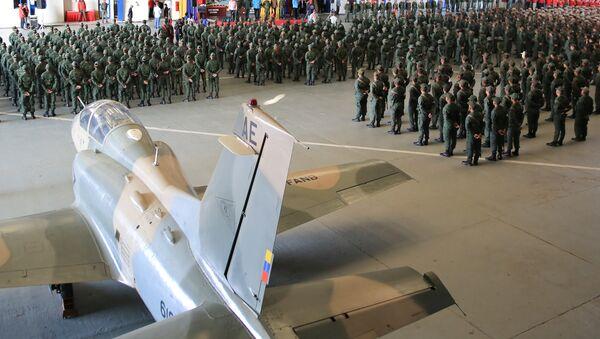 Venezuela's President Nicolas Maduro attends a military exercise in Maracaibo, Venezuela February 6, 2019 - Sputnik International