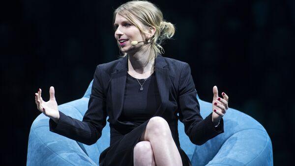 Former US soldier Chelsea Manning speaks during the C2 conference in Montreal, Quebec, on May 24, 2018 - Sputnik International