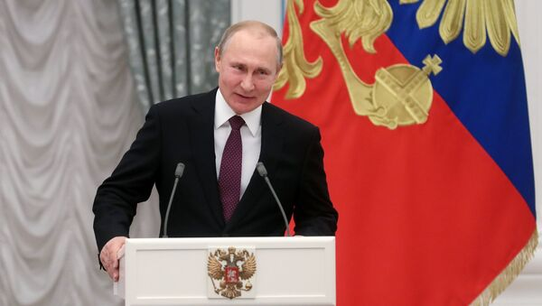 Russian President Vladimir Putin (File) - Sputnik International