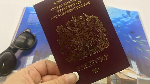 UK passport - Sputnik International