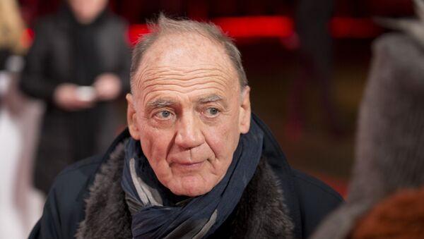 Swiss actor Bruno Ganz, arrives on the red carpet for the Goldene Kamera (Golden Camera) media awards in Berlin, Germany - Sputnik International