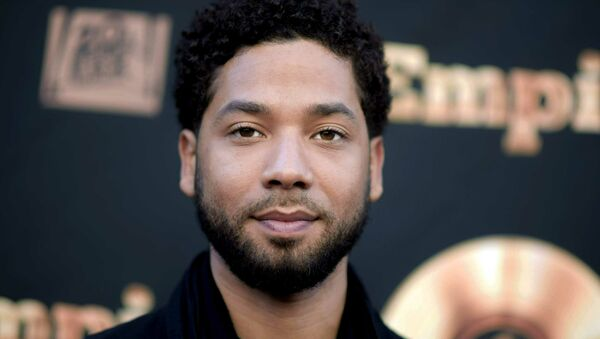 In this May 20, 2016 file photo, actor and singer Jussie Smollett attends the Empire FYC Event in Los Angeles - Sputnik International