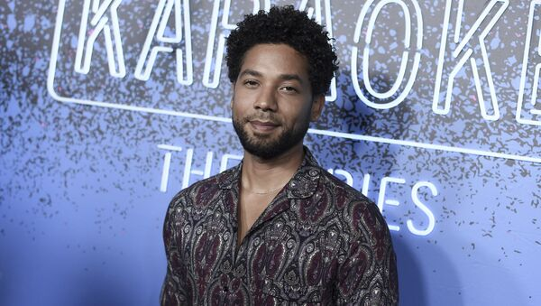 Jussie Smollett attends Carpool Karaoke: The Series launch event at the Chateau Marmont Hotel on Monday, Aug. 7, 2017, in Los Angeles.  - Sputnik International
