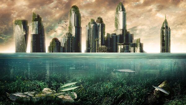 City underwater - Sputnik International
