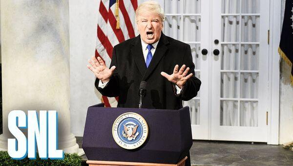 Trump Press Conference Cold Open - SNL - Sputnik International