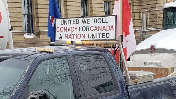 #UnitedWeRoll convoy - Sputnik International