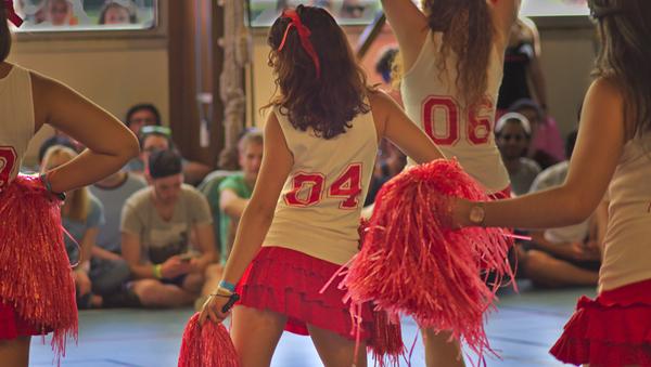 Red Cheerleader - Sputnik International