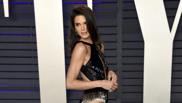 Kendall Jenner arrives at the Vanity Fair Oscar Party on Sunday, 24 February 2019, in Beverly Hills, California - Sputnik International