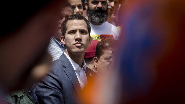 Self-proclaimed Venezuela's interim president Juan Guaido - Sputnik International