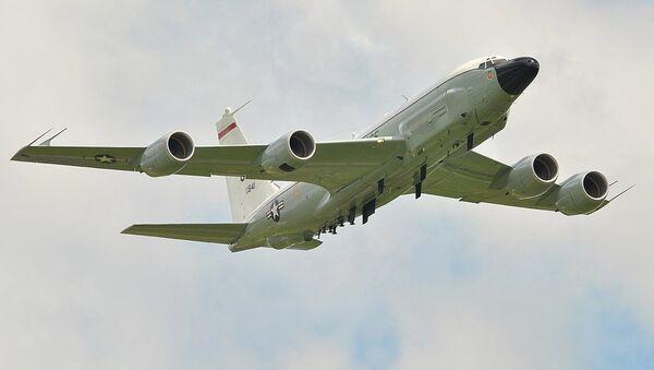 USAF RC135W Rivet Joint - Sputnik International