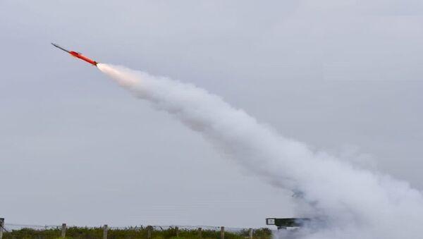 Quick Reaction Surface to Air Missile DRDO Test Video   26-02-2019   QRSAM - Sputnik International