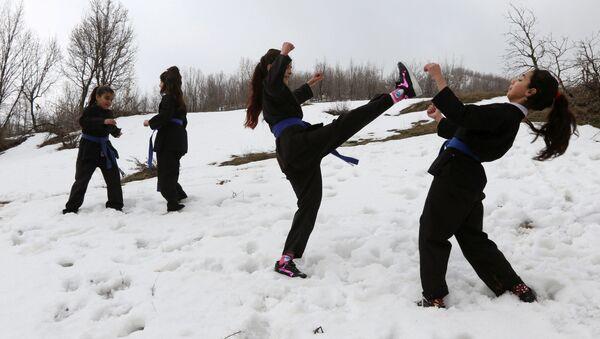 Karate Training Exercises in Iraq - Sputnik International