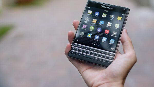 BlackBerry - Sputnik International