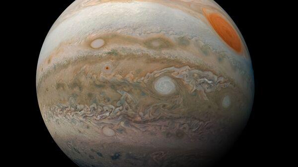 Новая фотография Юпитера, полученная зондом Juno NASA - Sputnik International