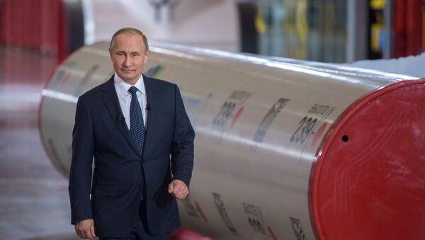 Pipes for Nord Stream 2 project - Sputnik International