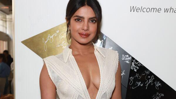 FEBRUARY 09: Priyanka Chopra attends Sir Lucian Grainge's 2019 Artist Showcase Presented by Citi at The Row on February 9, 2019 in Los Angeles, California. - Sputnik International