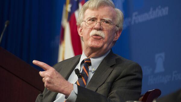 John Bolton, consejero de Seguridad Nacional de EEUU - Sputnik International