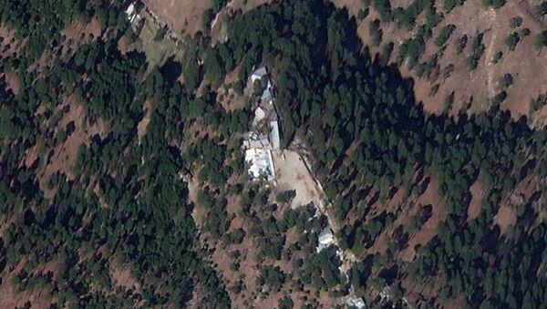 A cropped version of a satellite image shows a close-up of a madrasa near Balakot, Khyber Pakhtunkhwa province, Pakistan, March 4, 2019. Picture taken March 4, 2019 - Sputnik International