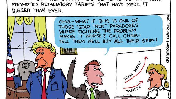 Deficit Don's Dilemma - Sputnik International