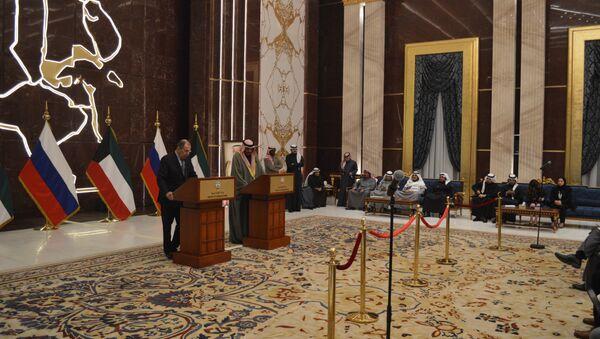Russian FM Sergey Lavrov holding press-conferences in Kuwait and UAE - Sputnik International