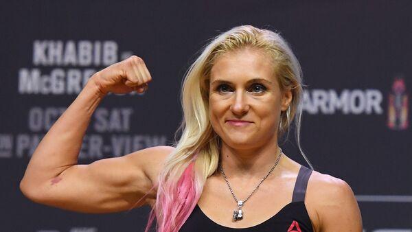 Russian female MMA fighter Yana Kunitskaya - Sputnik International
