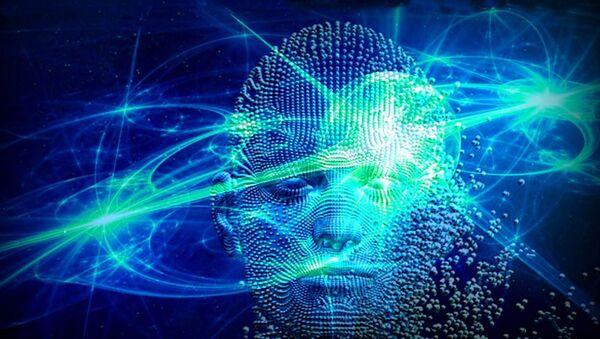 Artist depiction close-up of quantum physics-based consciousness (Creative Commons - Azmat Ullah) - Sputnik International