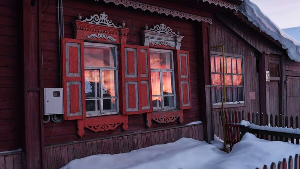 Snowy Fairytale: What Life is Like in Remote Siberian Village - Sputnik International