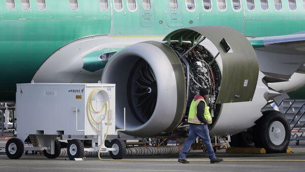 Boeing 737 MAX 8 - Sputnik International