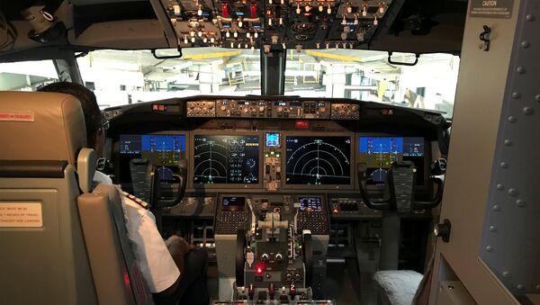 The cockpit of Jet Airways Boeing 737 MAX 8 aircarft - Sputnik International