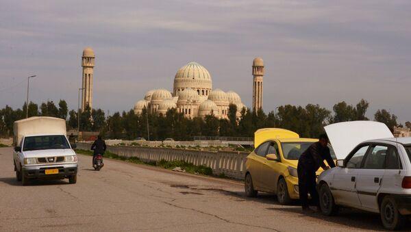 The view of the Grand Mosque in Mosul, Iraq (File photo). - Sputnik International