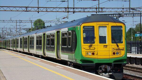UK train - Sputnik International