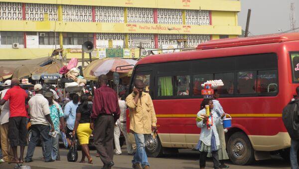 A bus stop in Ghana (File photo). - Sputnik International