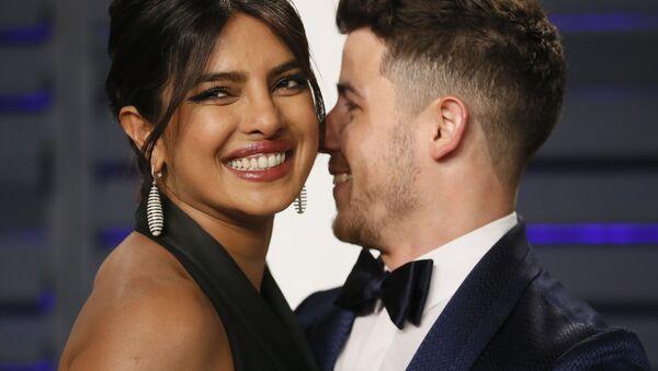 Priyanka Chopra and Nick Jonas, 91st Academy Awards - Sputnik International