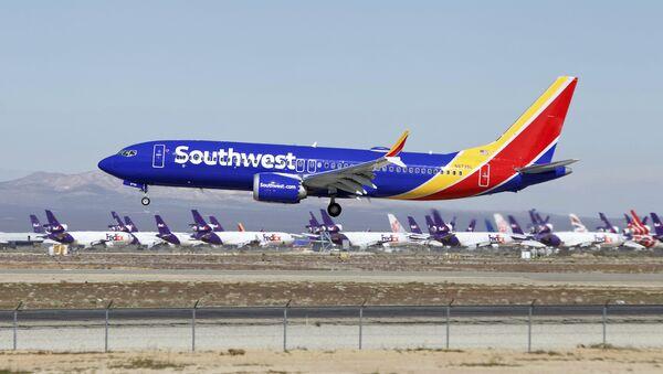 File Photo of Southwest Airlines 737 Max Jet - Sputnik International