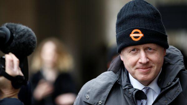 Former British Foreign Secretary Boris Johnson leaves the Cabinet Office in London, Britain March 19, 2019. - Sputnik International