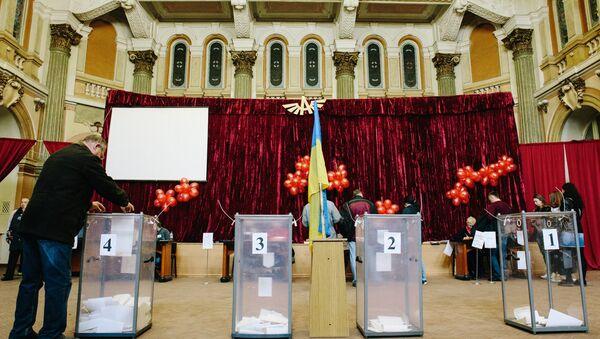 Ukraine's presidential elections. - Sputnik International