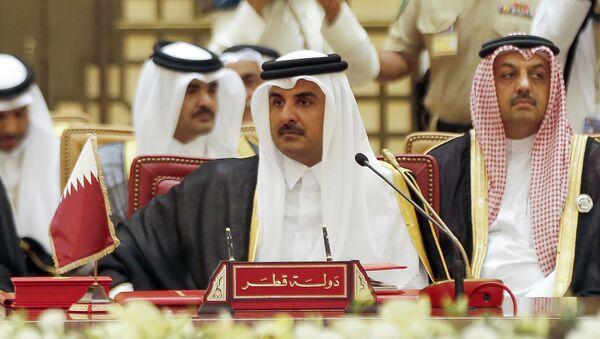 Tamim bin Hamad Al-Thani - Sputnik International