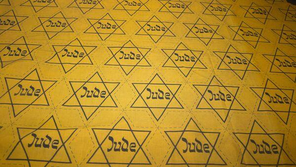 Nazi-made Cloth With Yellow Star of David Badges Cutouts - Sputnik International