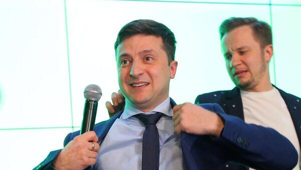 Presidential election in Ukraine 2019, Volodymyr Zelenskiy - Sputnik International