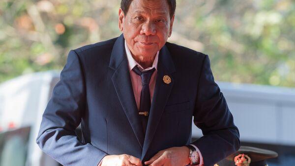 President of the Philippines Rodrigo Duterte (File) - Sputnik International