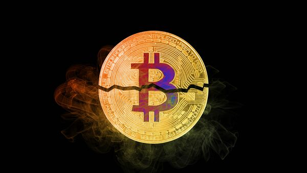 Bitcoin broken in half - Sputnik International
