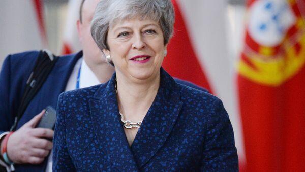 UK PM Theresa May - Sputnik International